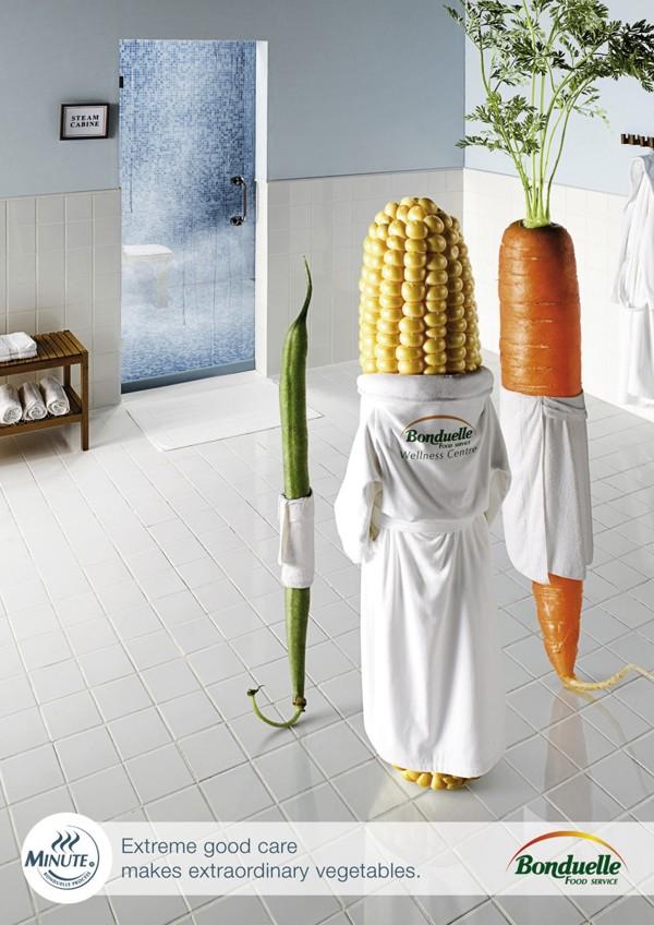 ростовая фигура рекламирующая овощи