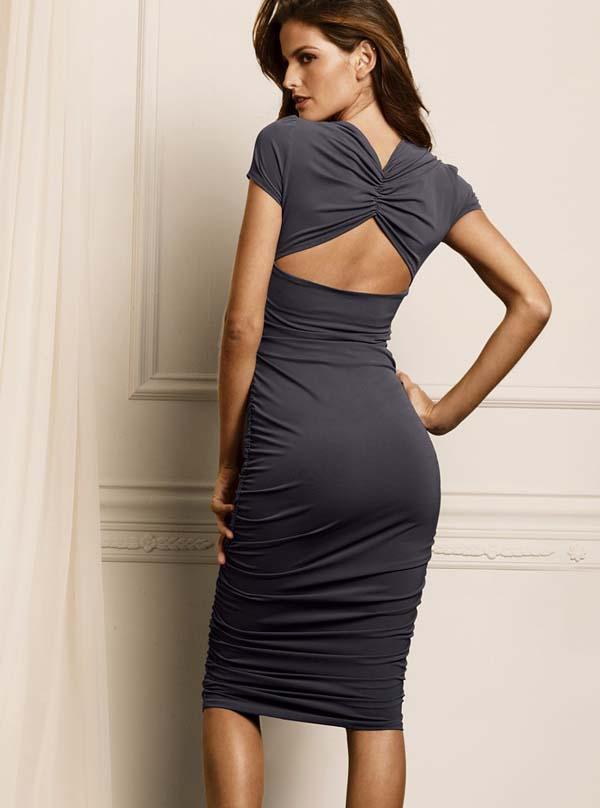 Облягающие платье фото.