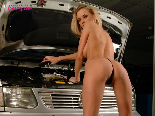 Голые девушки и авто обои