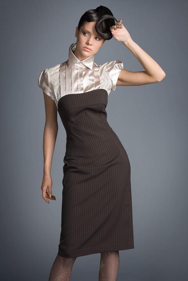 Платья женские делового офисного стиля в картинках