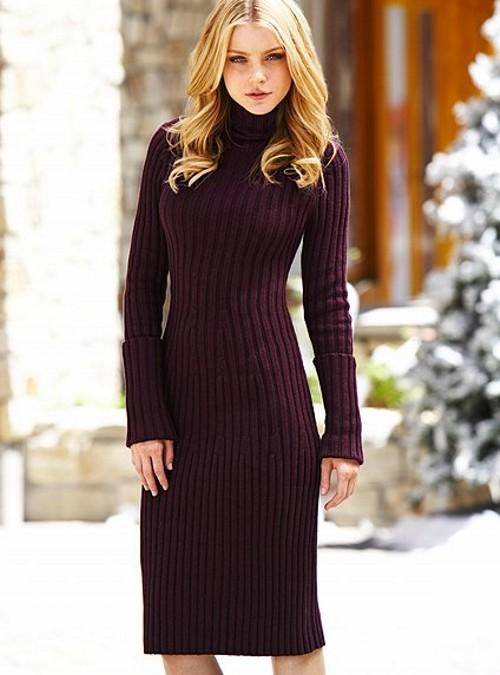 тёплые платья фото